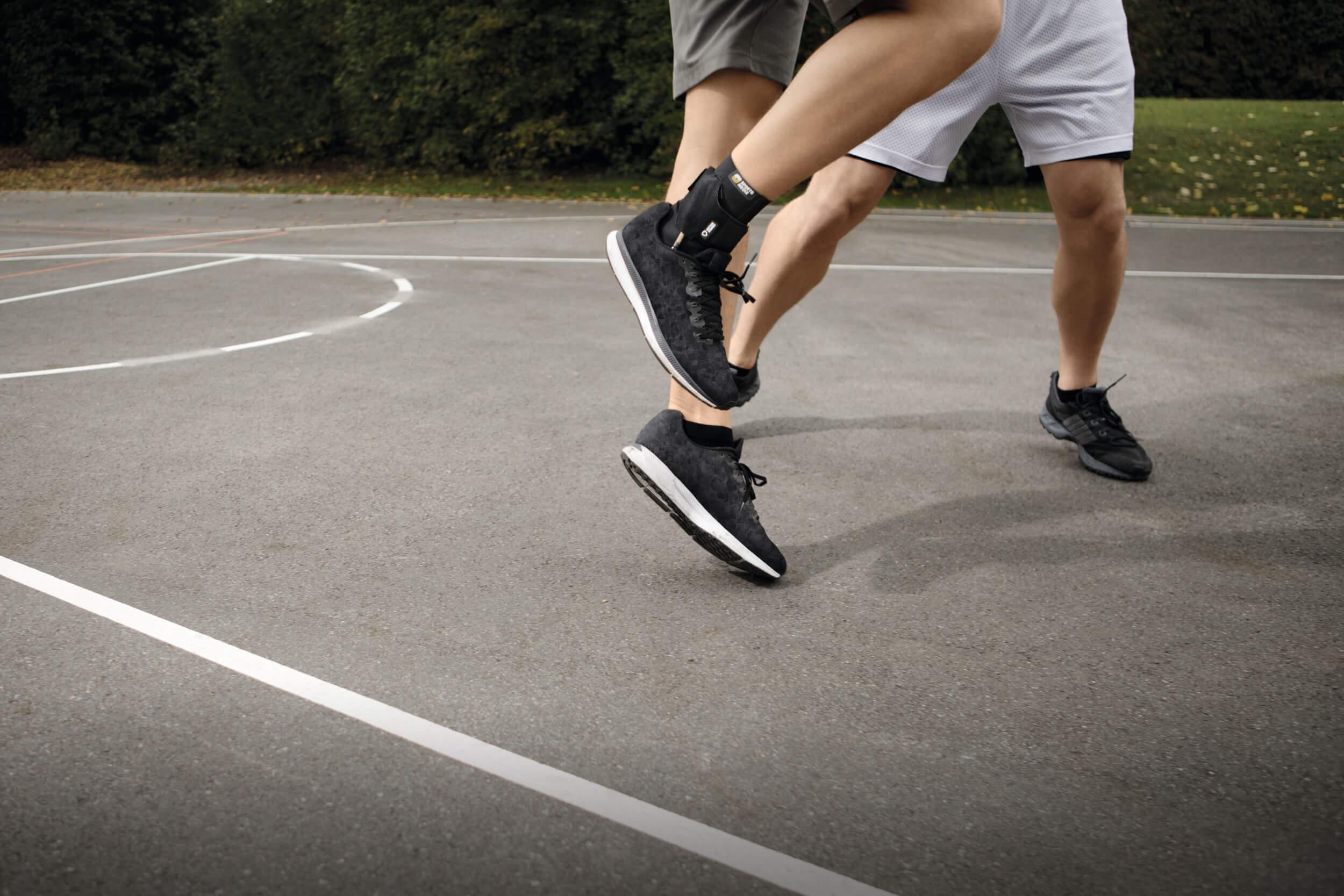fastprotect malleo sprunggelenkbandage gegen umknicken basketball
