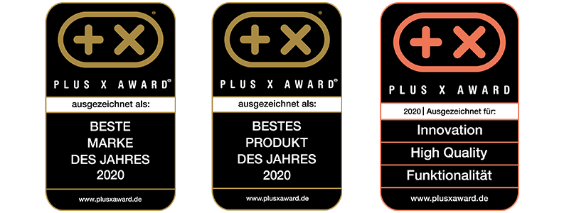 Plus X Awards sportomedix